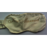 "Masque écru ""Just Married"""