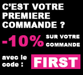 Premi&egrave;re commande ? Utilisez le code FIRST