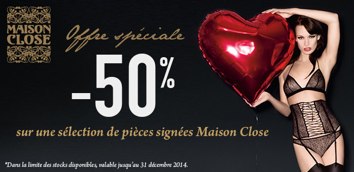 Offre Maison Close
